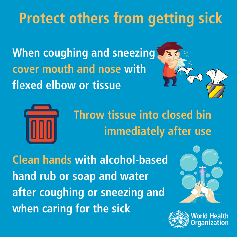 Protect others from coronavirus