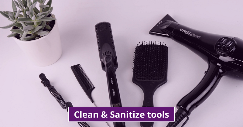 cleanliness of tools