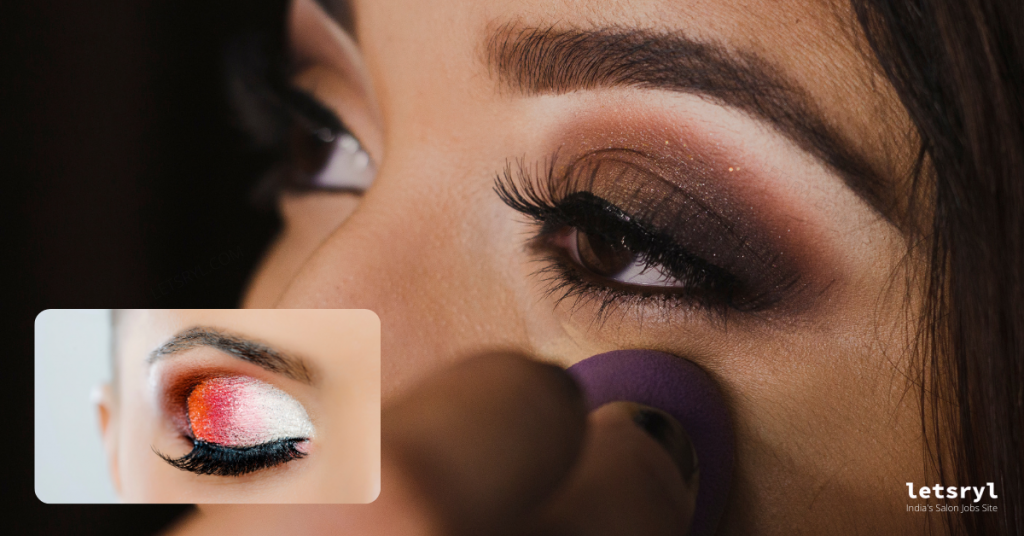 eyes for soft glam look